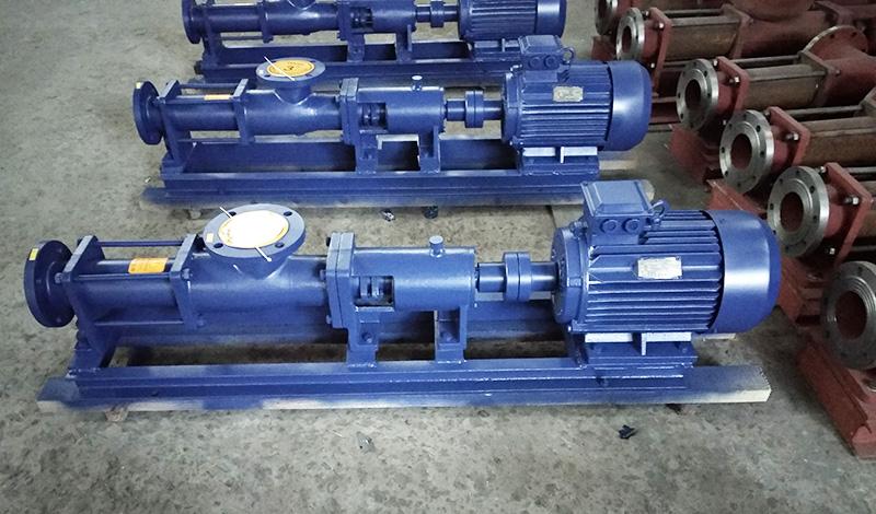 G型单螺杆泵实物图