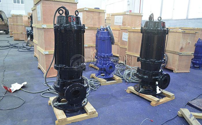 WQB防爆潜水排污泵